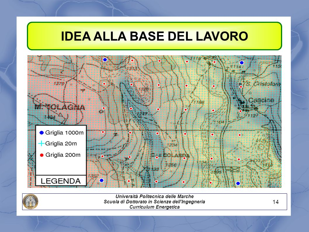 IDEA ALLA BASE DEL LAVORO Shuttle Radar Topography Mission