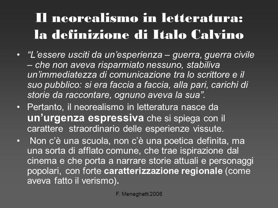 Il neorealismo in letteratura: la definizione di Italo Calvino