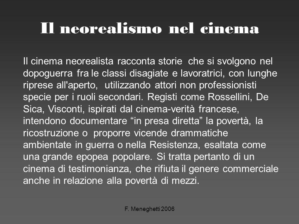 Il neorealismo nel cinema