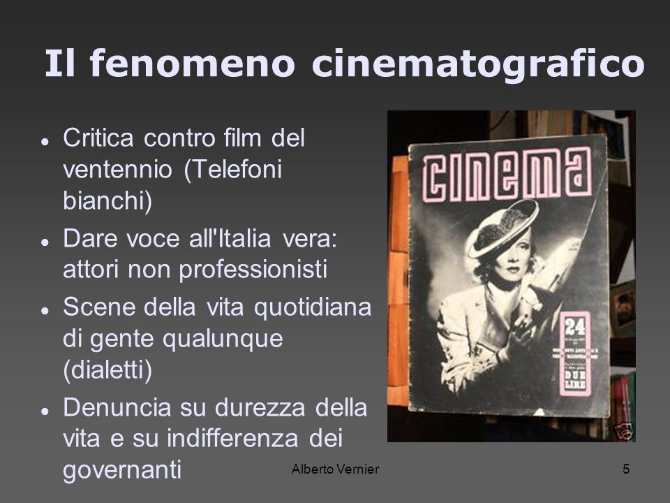 Il fenomeno cinematografico