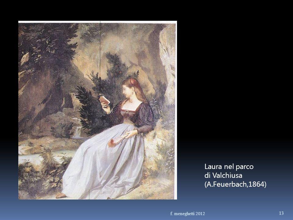 Laura nel parco di Valchiusa (A.Feuerbach,1864) f. meneghetti 2012