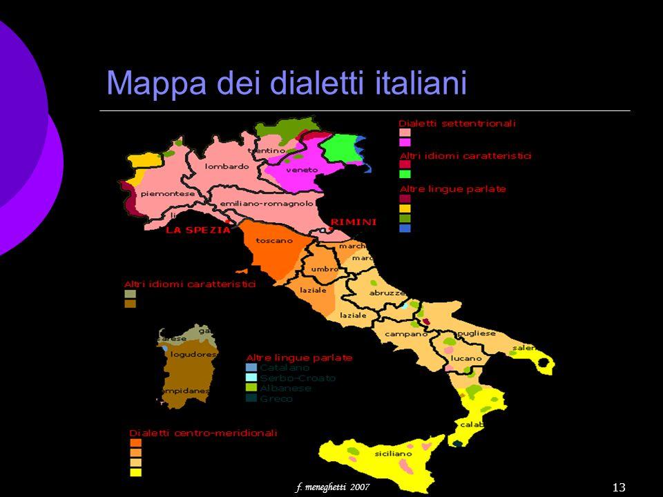 Mappa dei dialetti italiani