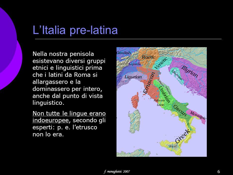 L'Italia pre-latina