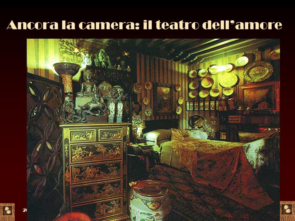Ancora la camera: il teatro dell'amore