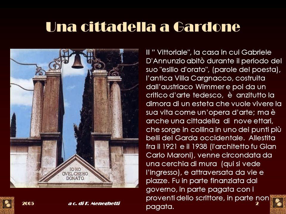 Una cittadella a Gardone