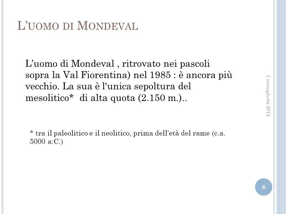 L'uomo di Mondeval