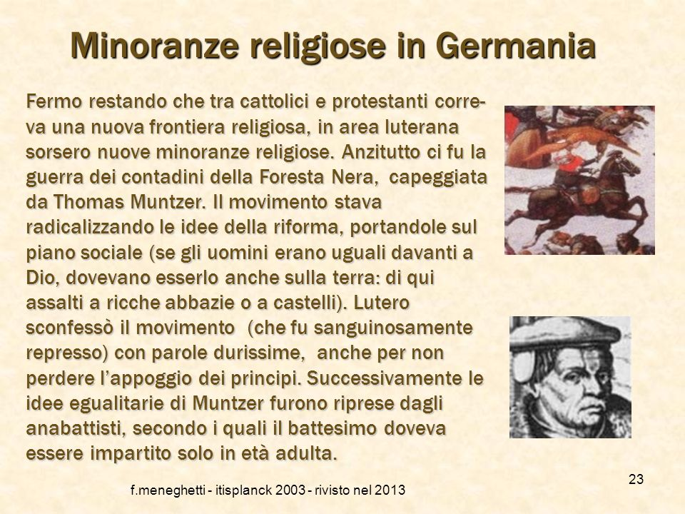 Minoranze religiose in Germania