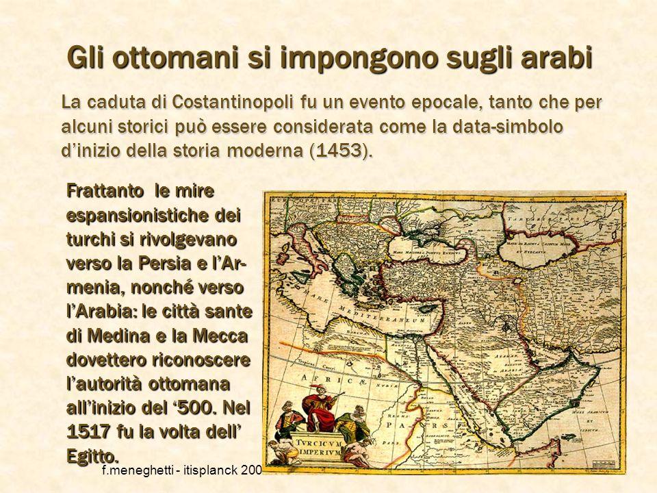Gli ottomani si impongono sugli arabi