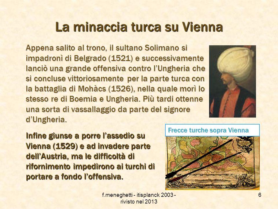 La minaccia turca su Vienna