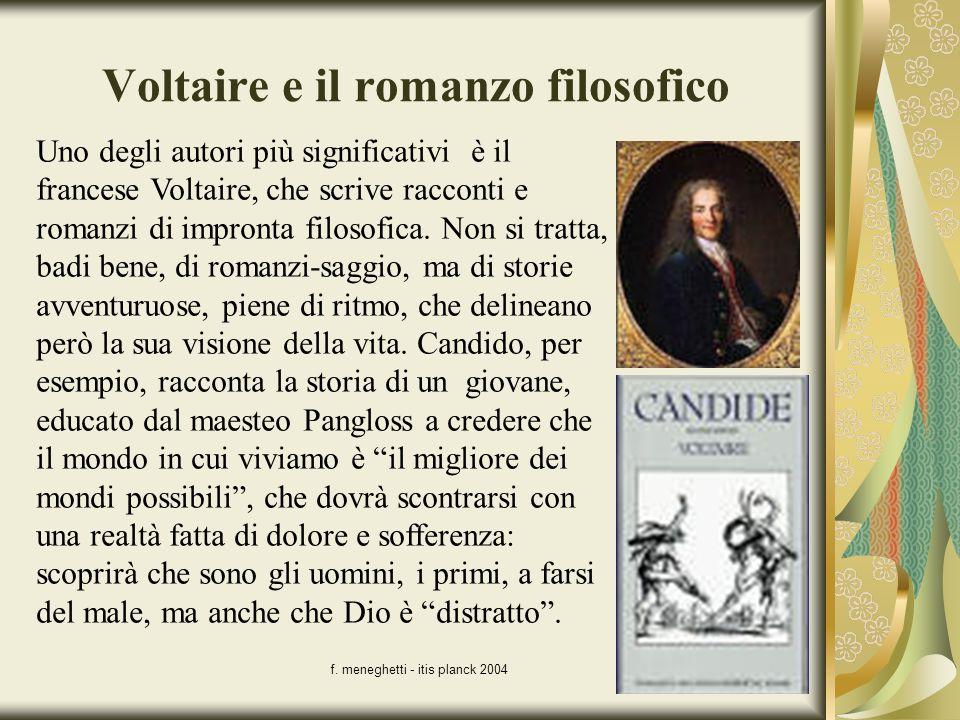 Voltaire e il romanzo filosofico