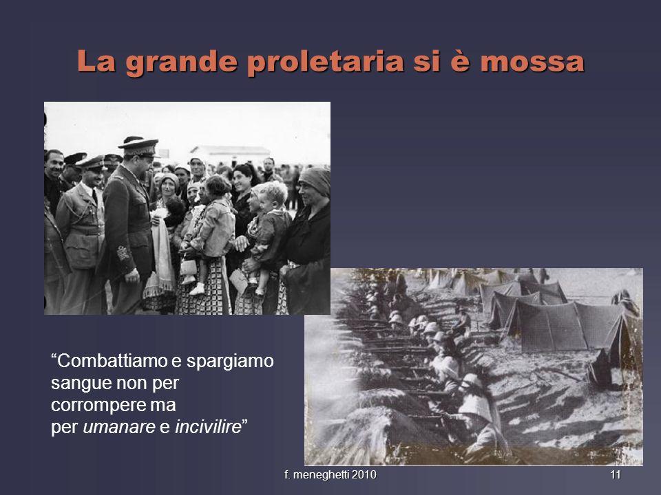 La grande proletaria si è mossa