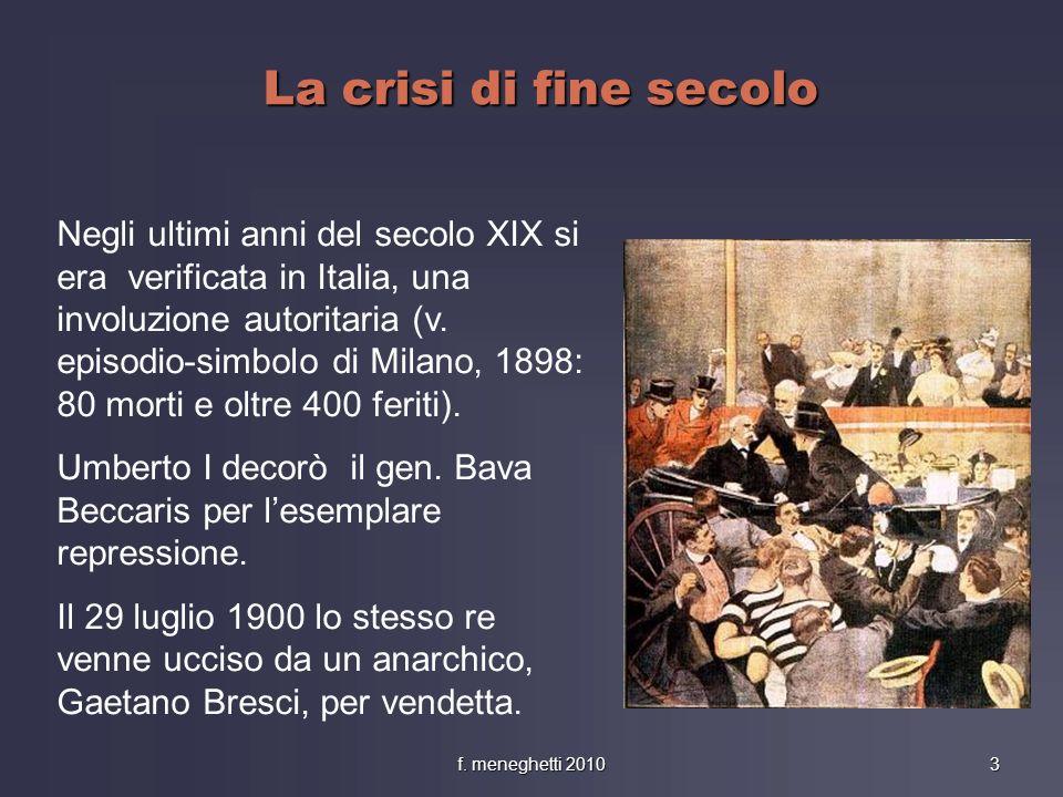La crisi di fine secolo
