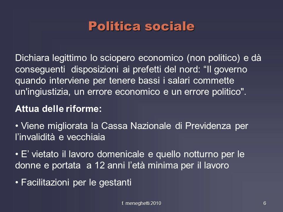 Politica sociale