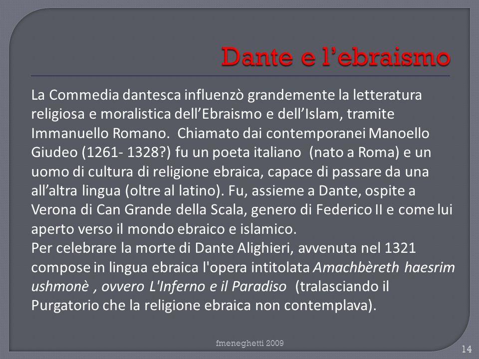 Dante e l'ebraismo