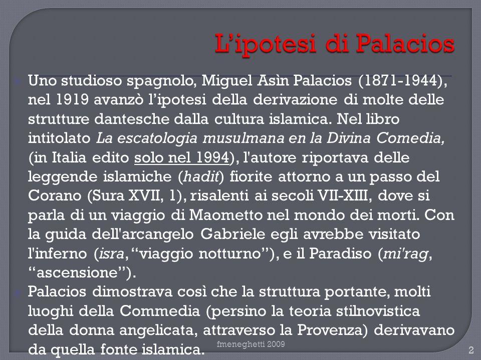 L'ipotesi di Palacios