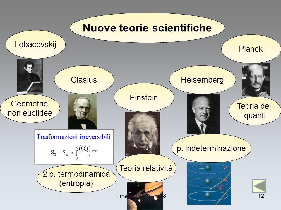 Nuove teorie scientifiche