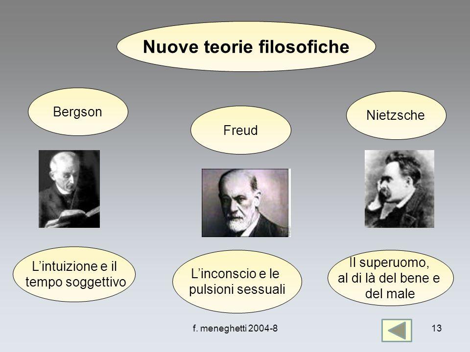 Nuove teorie filosofiche