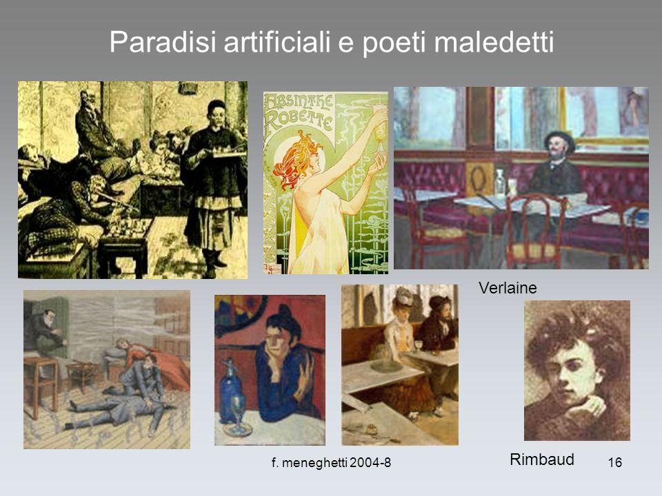 Paradisi artificiali e poeti maledetti