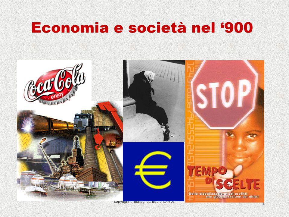 Economia e società nel '900