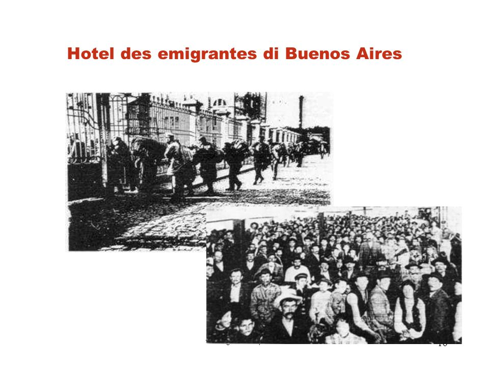 Hotel des emigrantes di Buenos Aires