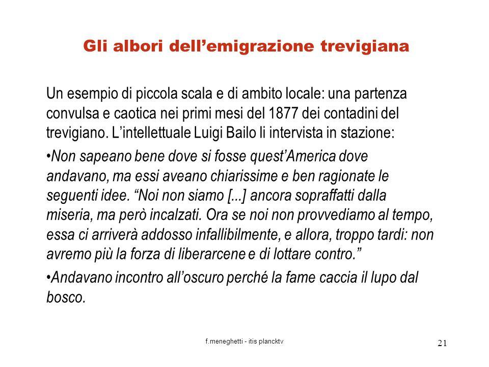 Gli albori dell'emigrazione trevigiana