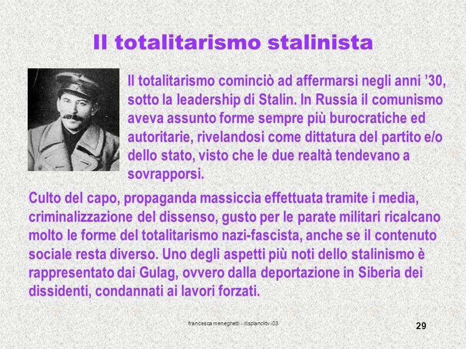 Il totalitarismo stalinista
