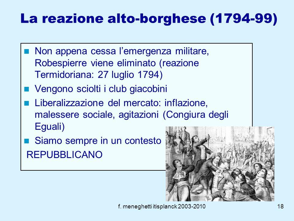 La reazione alto-borghese (1794-99)