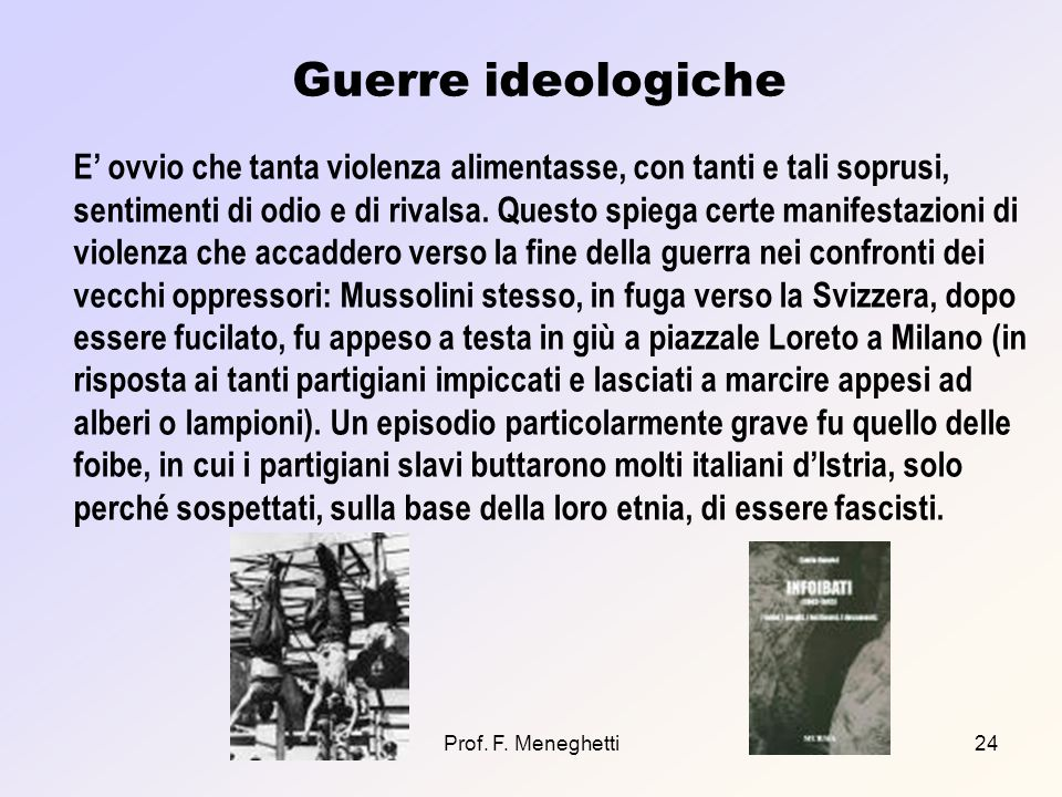Guerre ideologiche