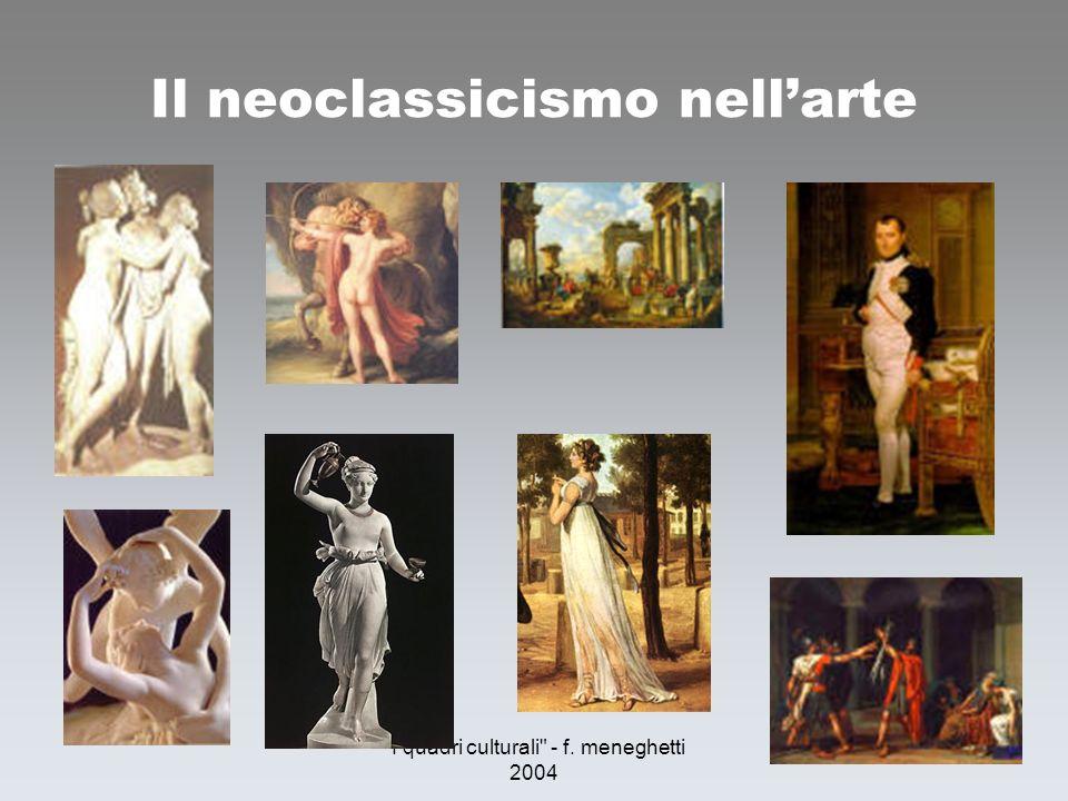 Il neoclassicismo nell'arte