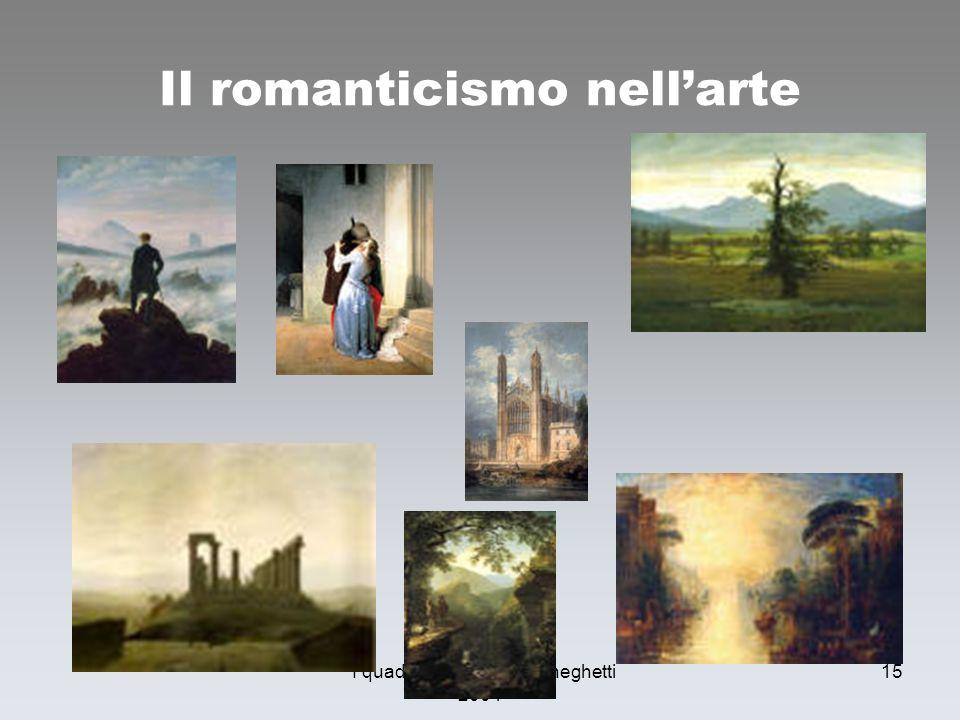 Il romanticismo nell'arte