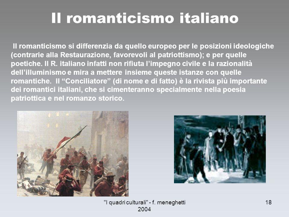 Il romanticismo italiano