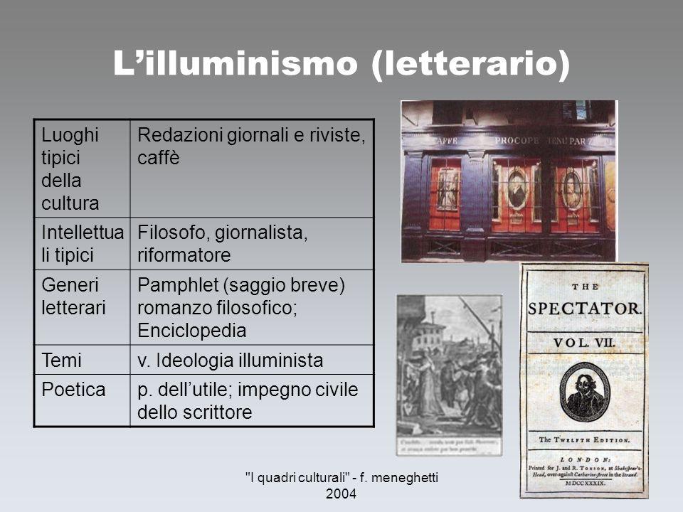 L'illuminismo (letterario)