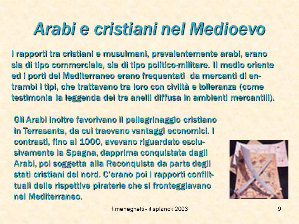Arabi e cristiani nel Medioevo