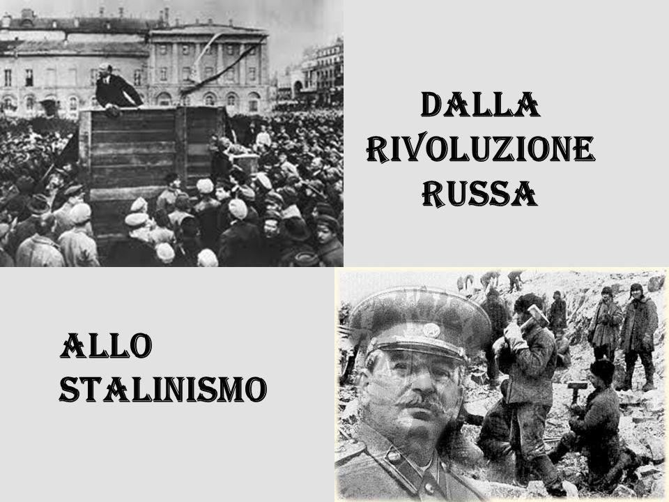 Dalla rivoluzione russa