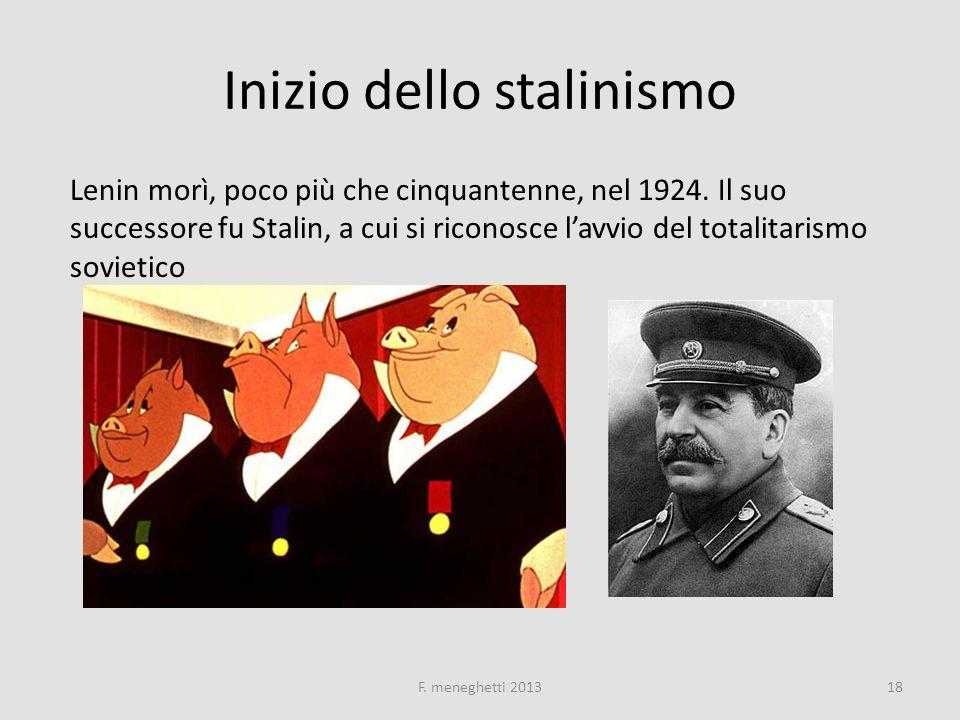 Inizio dello stalinismo