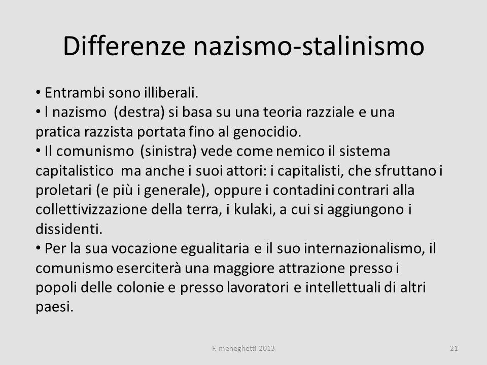 Differenze nazismo-stalinismo
