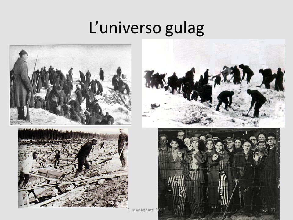 L'universo gulag F. meneghetti 2013