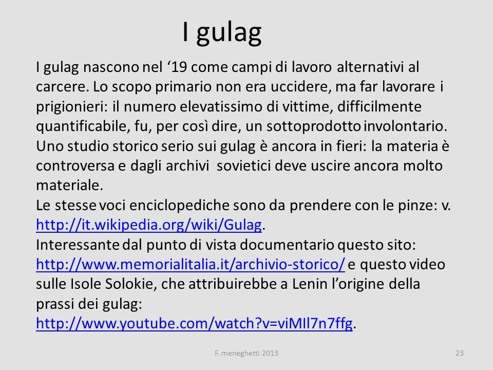 I gulag