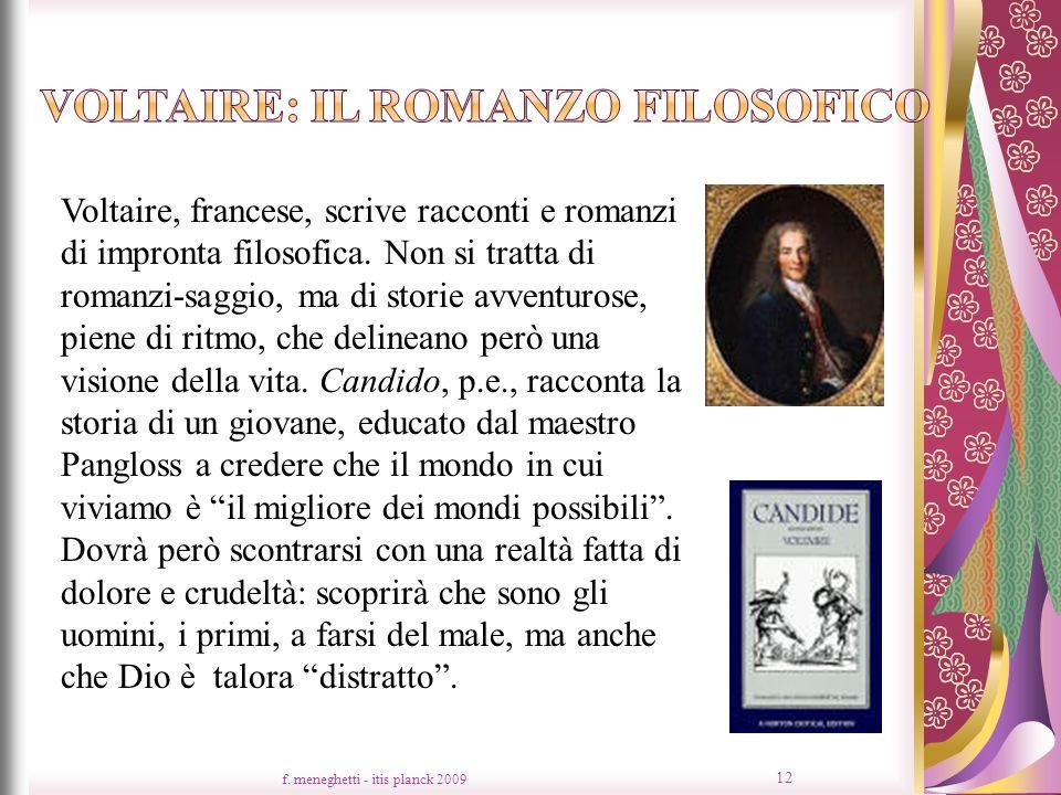 Voltaire: il romanzo filosofico