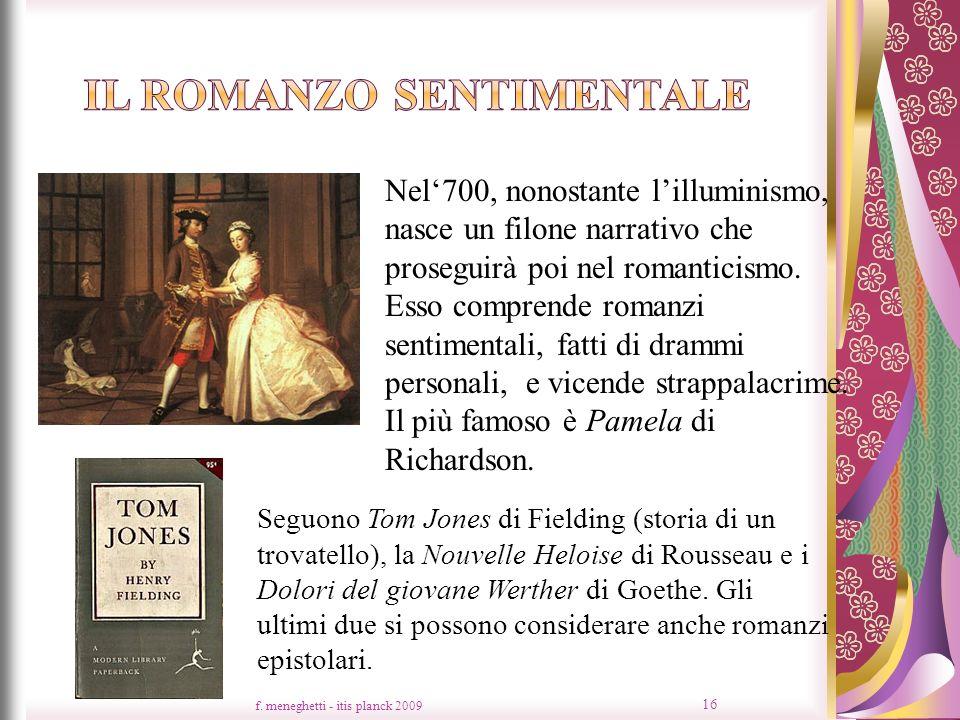 Il romanzo sentimentale