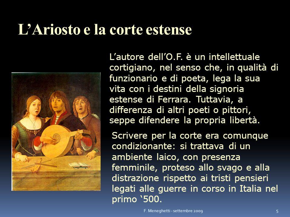 L'Ariosto e la corte estense