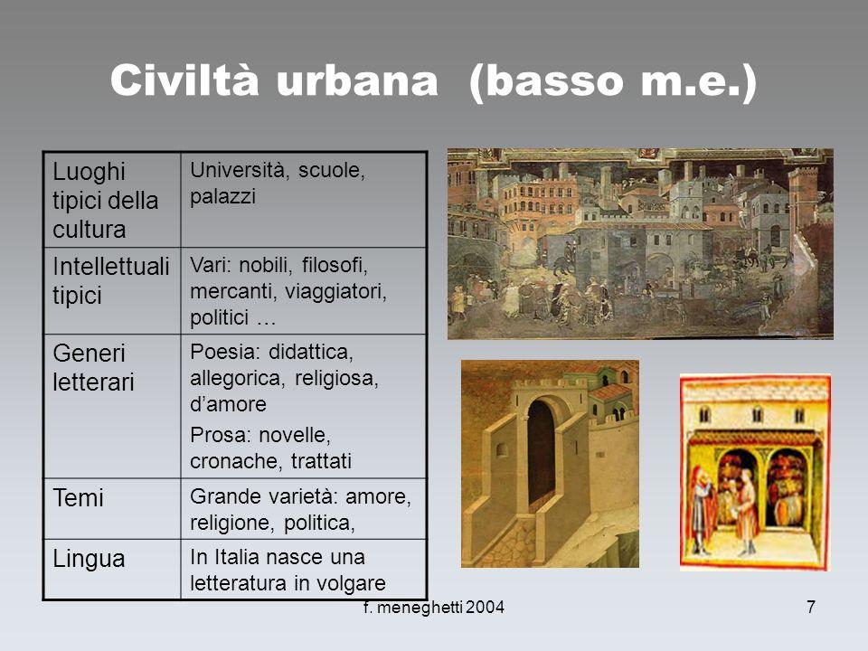 Civiltà urbana (basso m.e.)