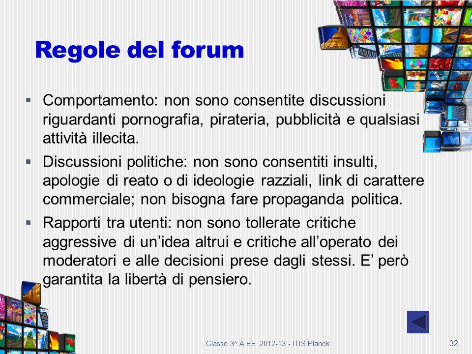 Regole del forum