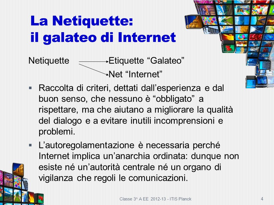 La Netiquette: il galateo di Internet