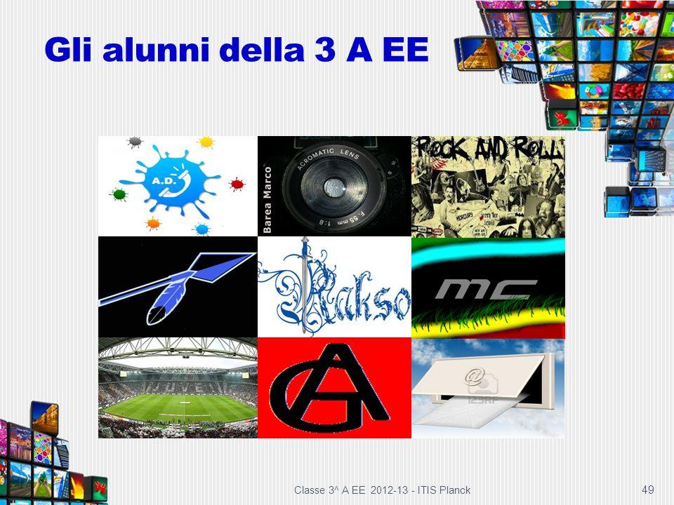Gli alunni della 3 A EE Classe 3^ A EE 2012-13 - ITIS Planck