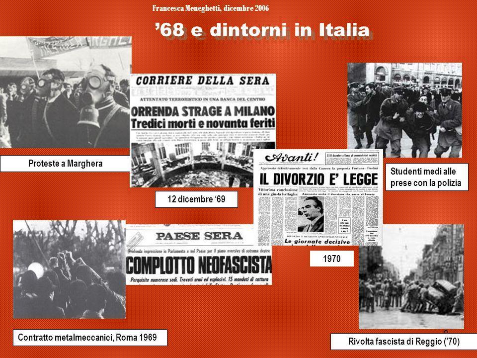 Francesca Meneghetti, dicembre 2006 Rivolta fascista di Reggio ('70)