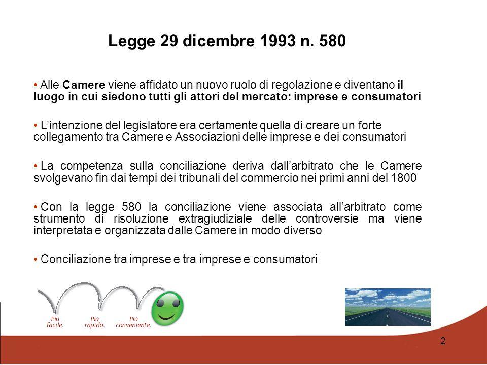 Legge 29 dicembre 1993 n. 580