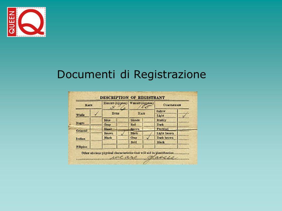 Documenti di Registrazione