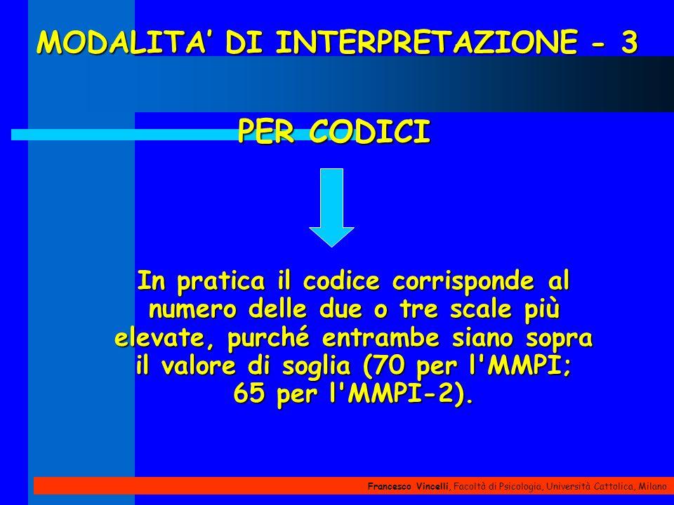 MODALITA' DI INTERPRETAZIONE - 3