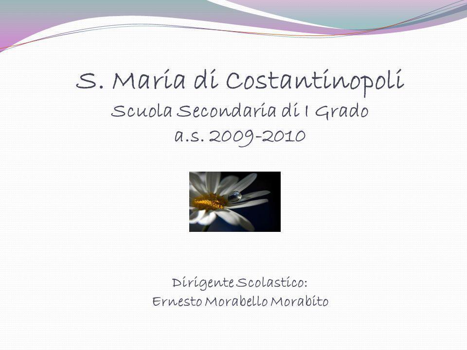 S. Maria di Costantinopoli Scuola Secondaria di I Grado a. s
